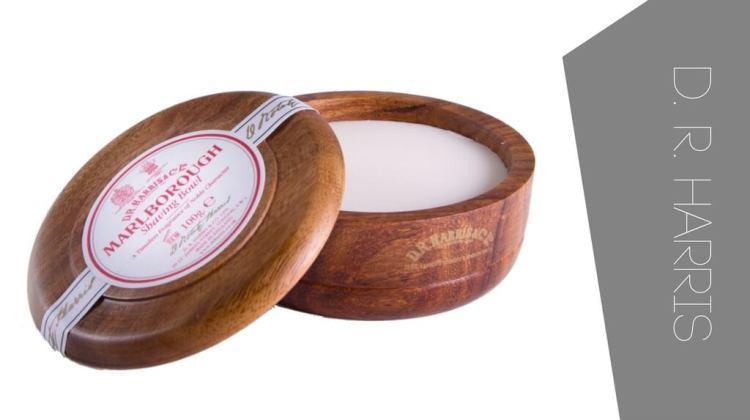 Best shaving soaps. For Sensitive skin and for experienced wet shavers - D R Harris shaving soap Marlborough