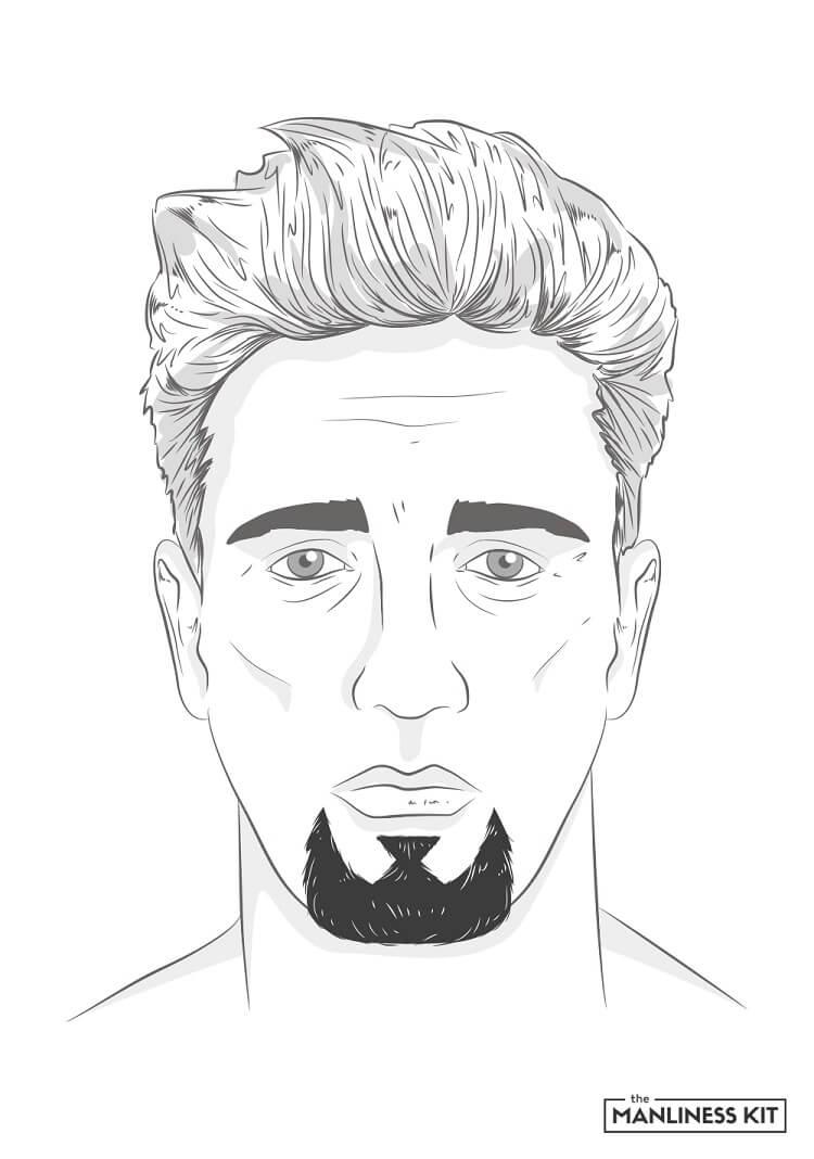 classic goatee beard style