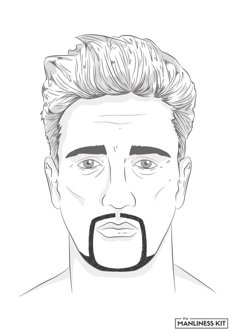 the hollywood beard style