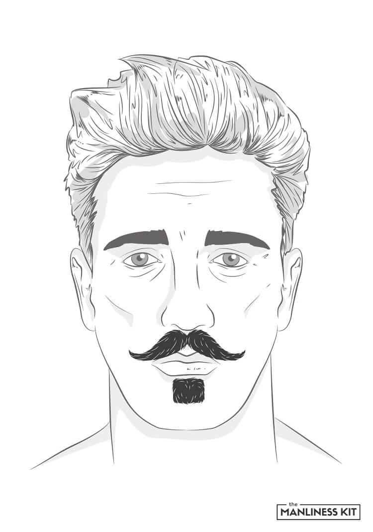 the zappa beard style