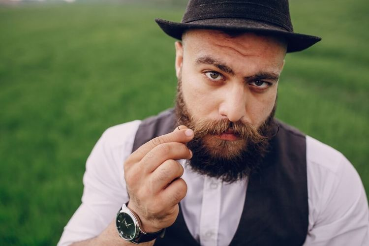 How to apply beard wax on your mustache and beard like a boss