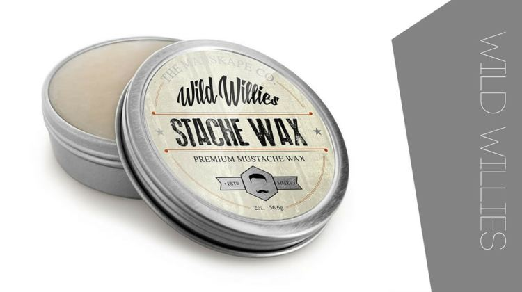 One of the top beard waxes is the Wild Willies Original