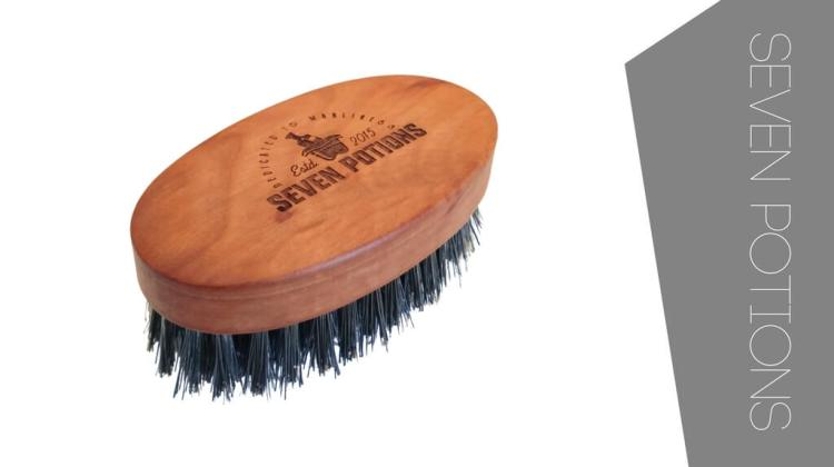 Seven Potions Boar Bristle Beard Brush