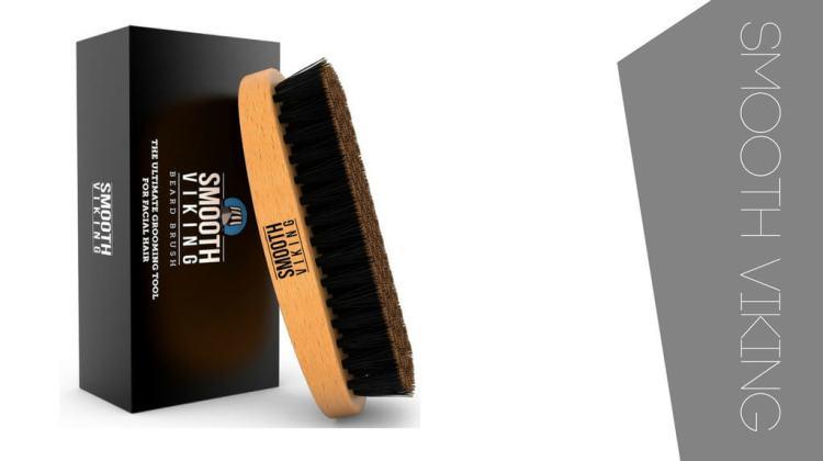 Smooth viking beard brush. The cheapest top beard brush for short beards