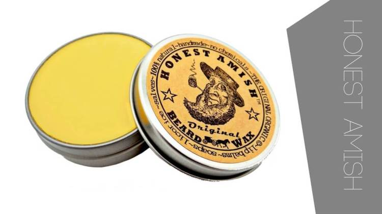 The best beard wax from Honest Amish. Try the Original
