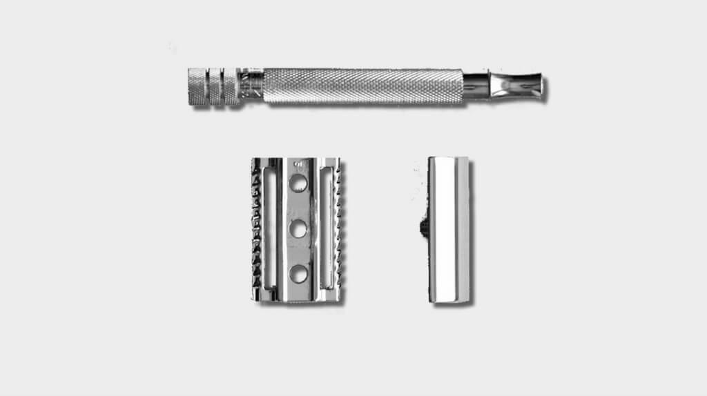 Merkur 180 safety razor is a popular choice for wet shaving beginners