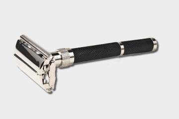 Parker 92r safety razor butterfly open ultra heavyweight