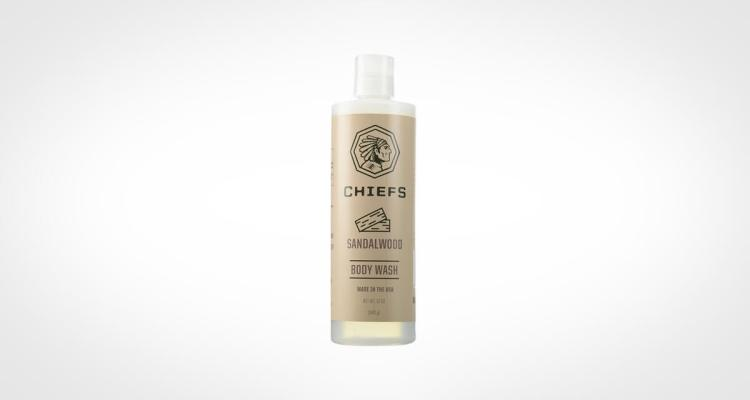 Chiefs body wash for men