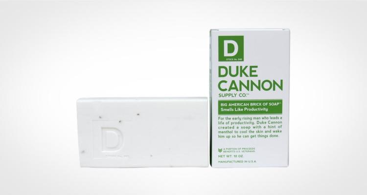 Duke Cannon bar soap