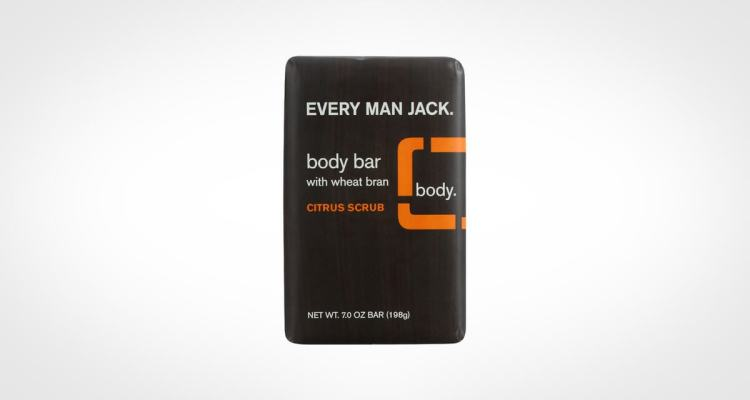 Every Man Jack bar soap for body