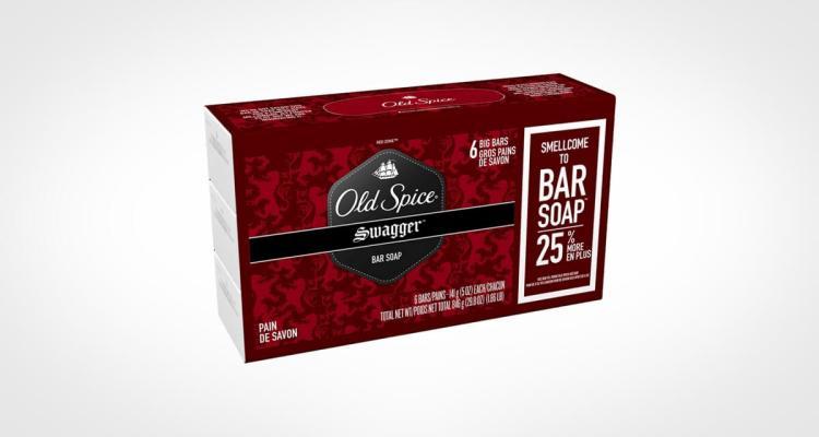 Old Spice bar soap for men