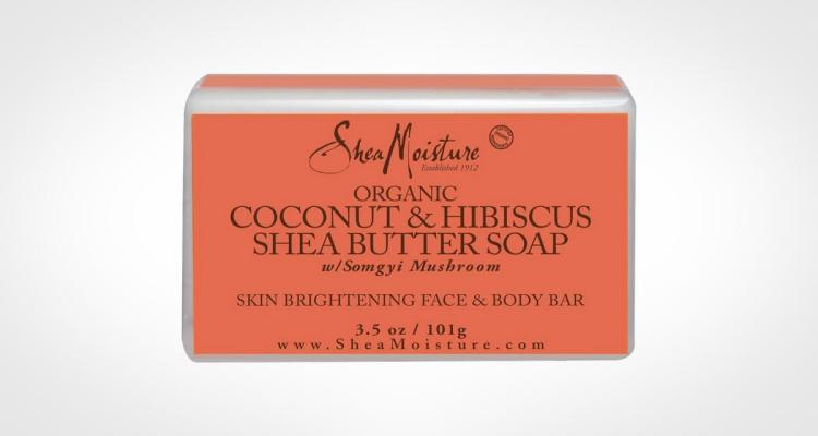 Shea Moisture Organic Shea Butter Bar Soap for face and body