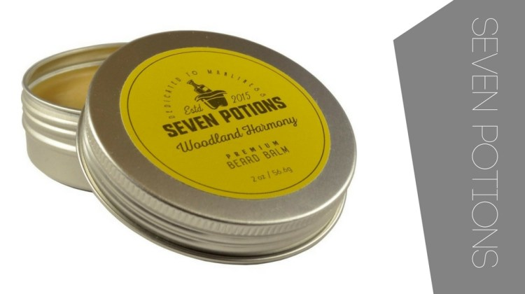 Top beard balm by Seven Potions
