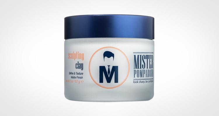 Mister Pompadour Sculpting Hair Clay For Men Matte Finish