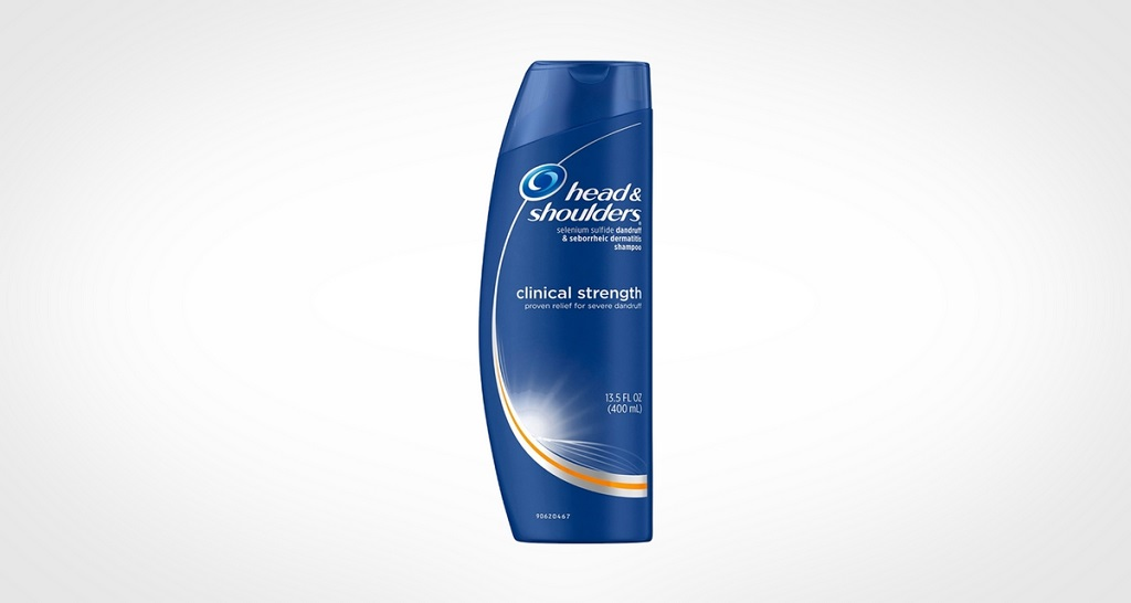 Head and Shoulders Clinical Strength Dandruff and Seborrheic Dermatitis Shampoo