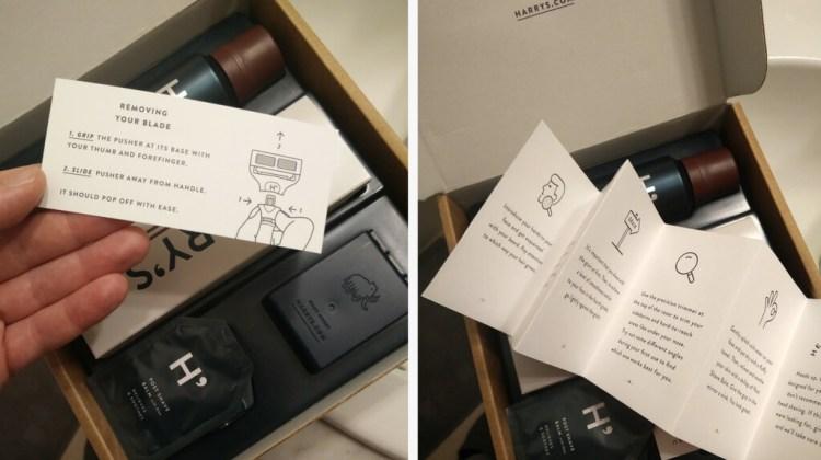 Harrys razors review - Winston set unboxing
