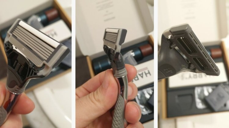 Review of harrys razor blade - Looking at the cartridge