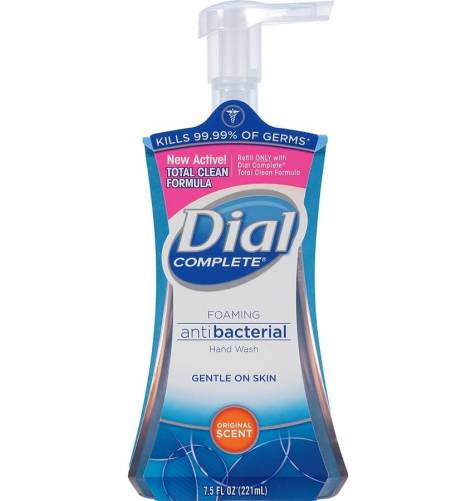Dial antibacterial hand wash for men