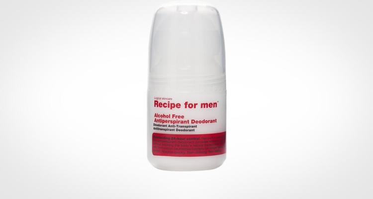 Recipe for men deodorant and antiperspirant for men