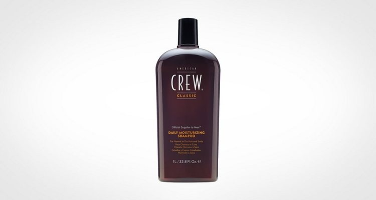 American Crew men's shampoo for dry hair and scalp