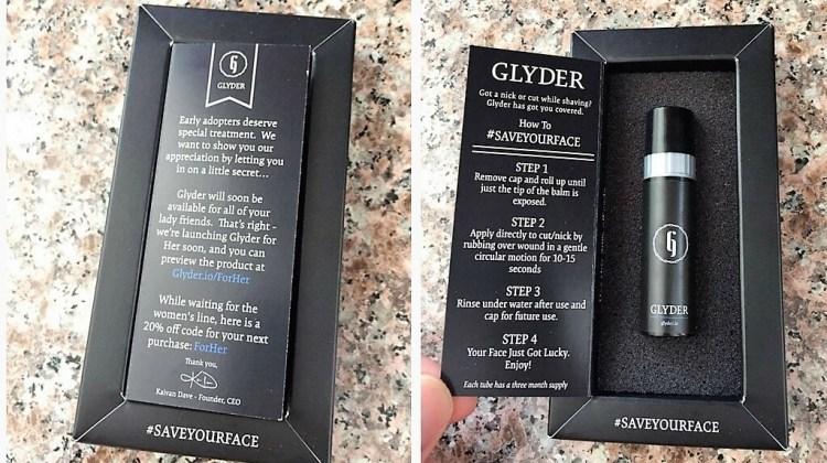 Glyder Styptic Balm inner