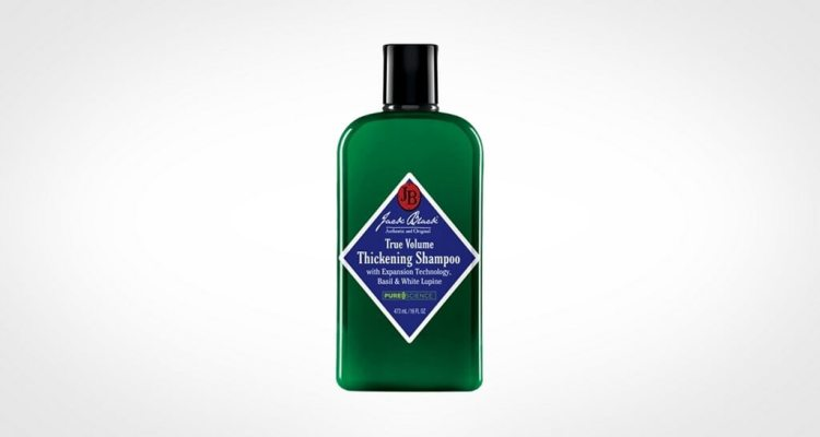 Jack Black Thickening shampoo for men with hair loss