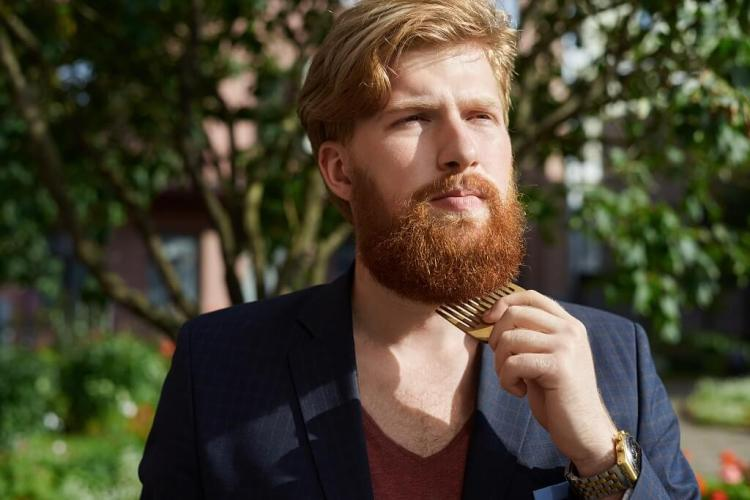 Make your beard look better and thicker with beard comb