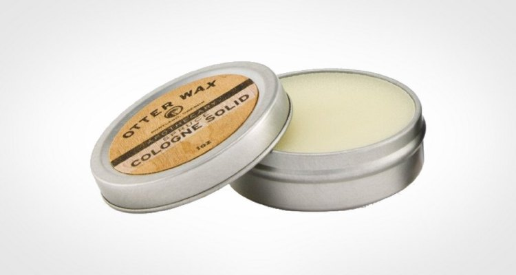 Otterwax men's solid cologne