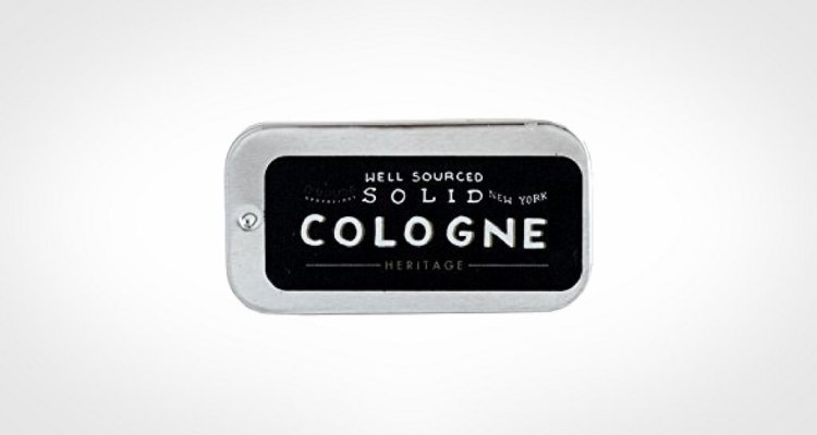Well sourced solid cologne for men
