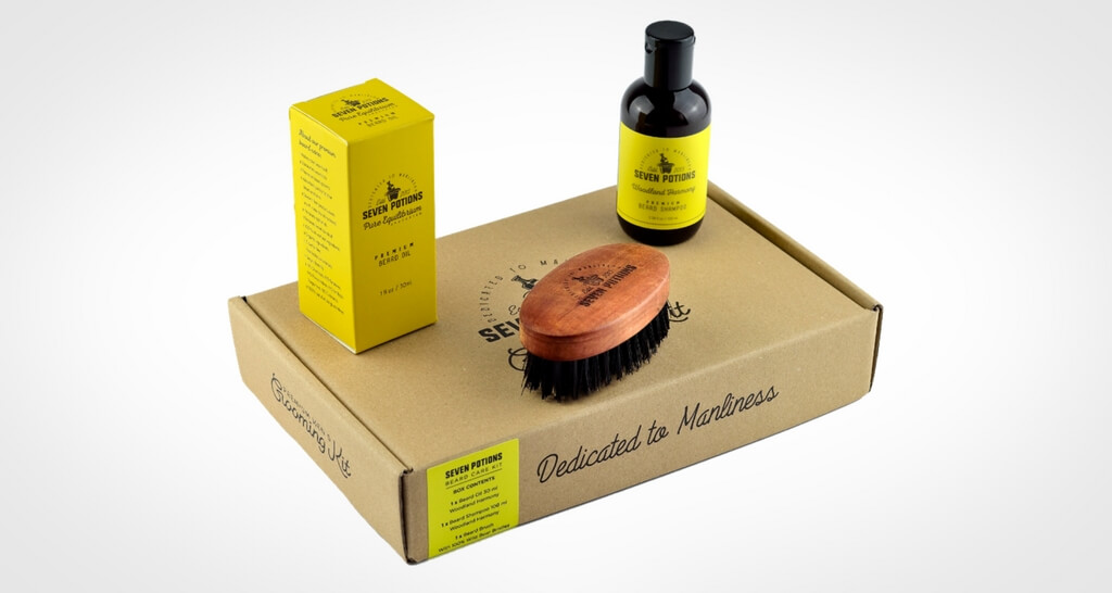 Seven Potions The best Beard Care Set