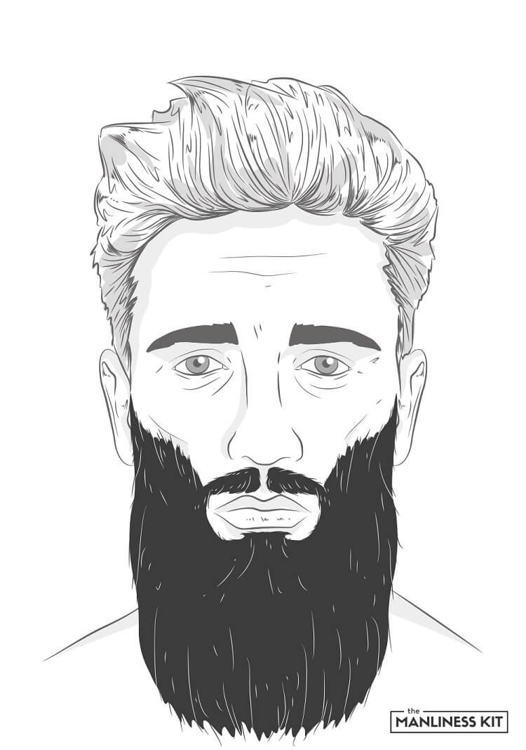 yeard long beard style