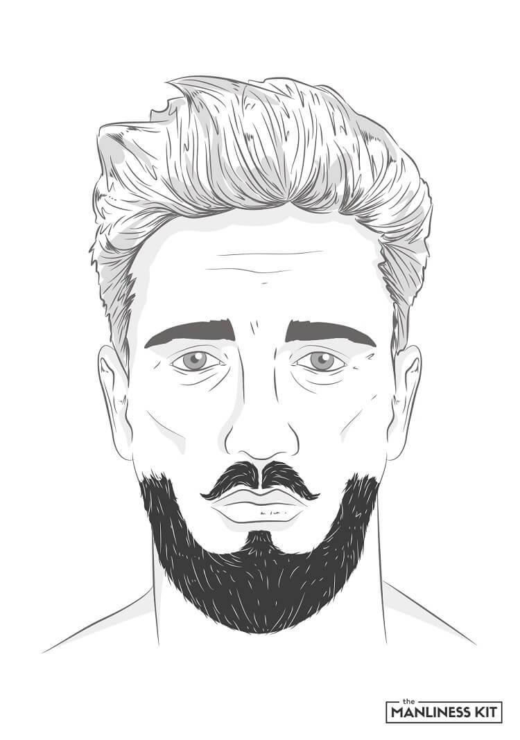 balbo returns beard style