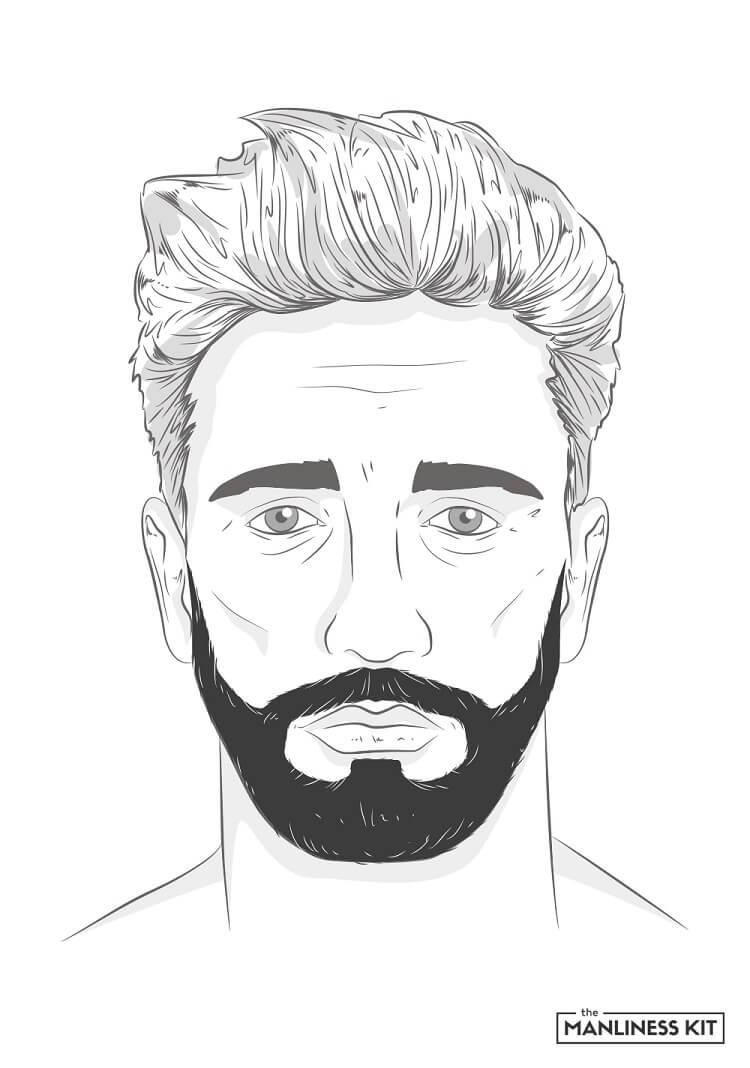 corporate beard style