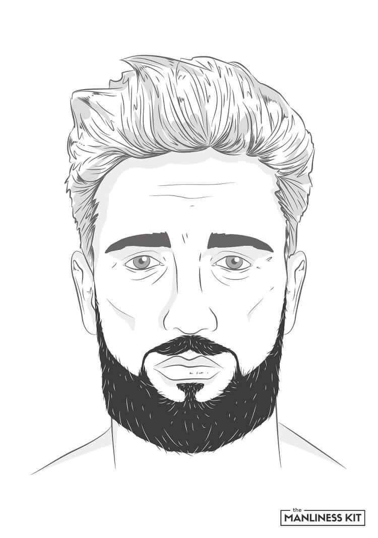 lowrider beard style