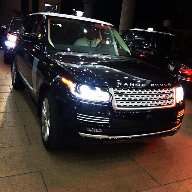 Davido's Caar Range Rover