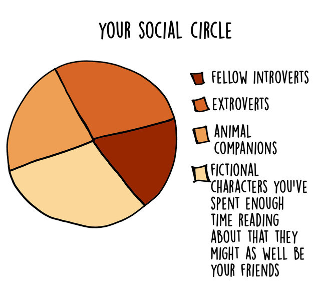 funny introvert graphs