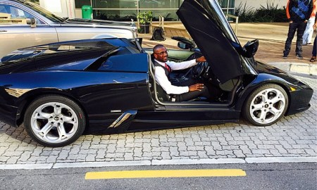 peter okoye's fleet of cars