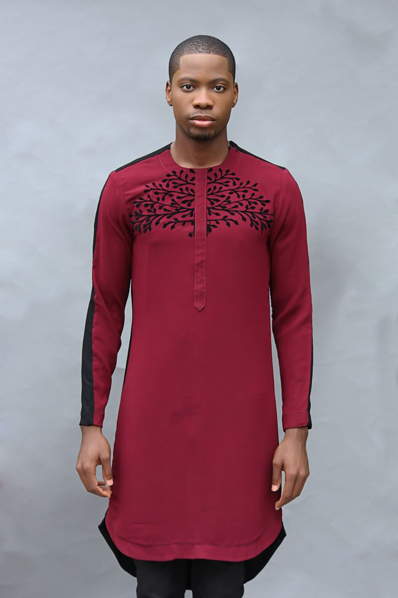 very modern kaftan design