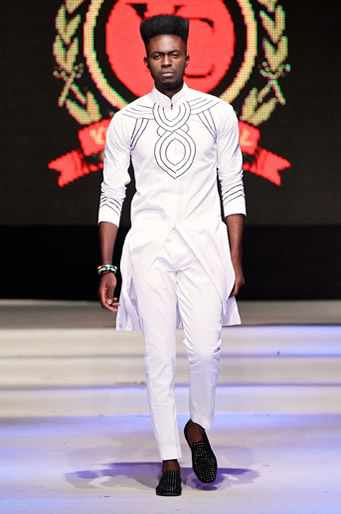 Nice embroidery by Nigerian men