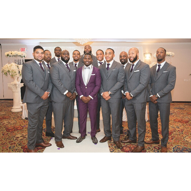Grooms and Groomsmen Attire: Wedding Suits12