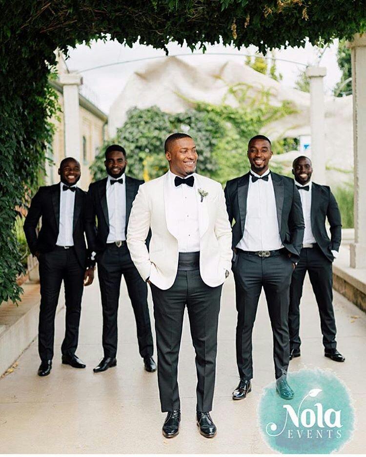 Grooms And Groomsmen Attire: Wedding Suits