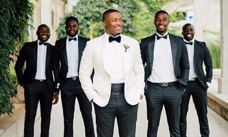 Grooms and Groomsmen Attire: Wedding Suits9