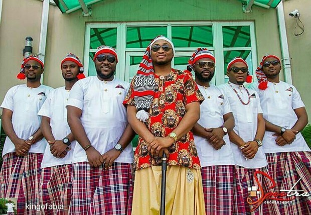 Igbo Traditional Wedding Attire for Groom2