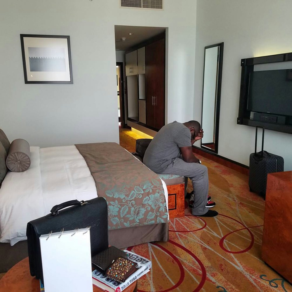 Exclusive Pictures of Jim Iyke's House & Cars