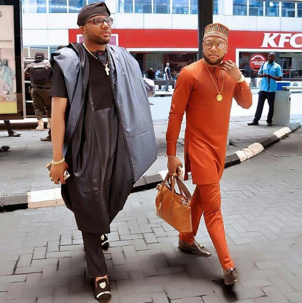 Dapper Nigerian Men's Traditional Fashion5