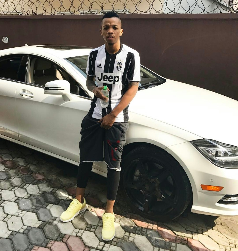 Nigerian celebrities and their Cars (Exclusive Photos) tekno