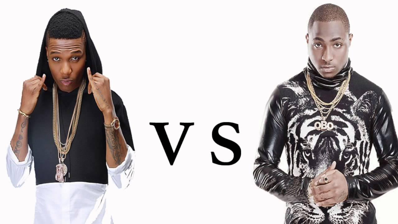 Image result for davido vs wizkid