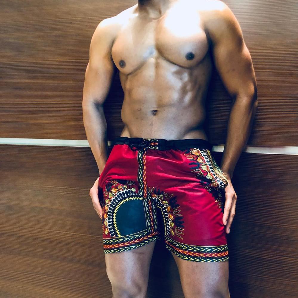 dashiki beach shorts 2