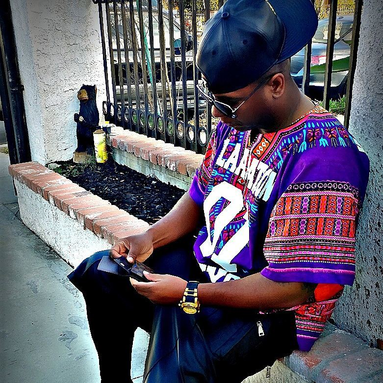 dashiki with facecap