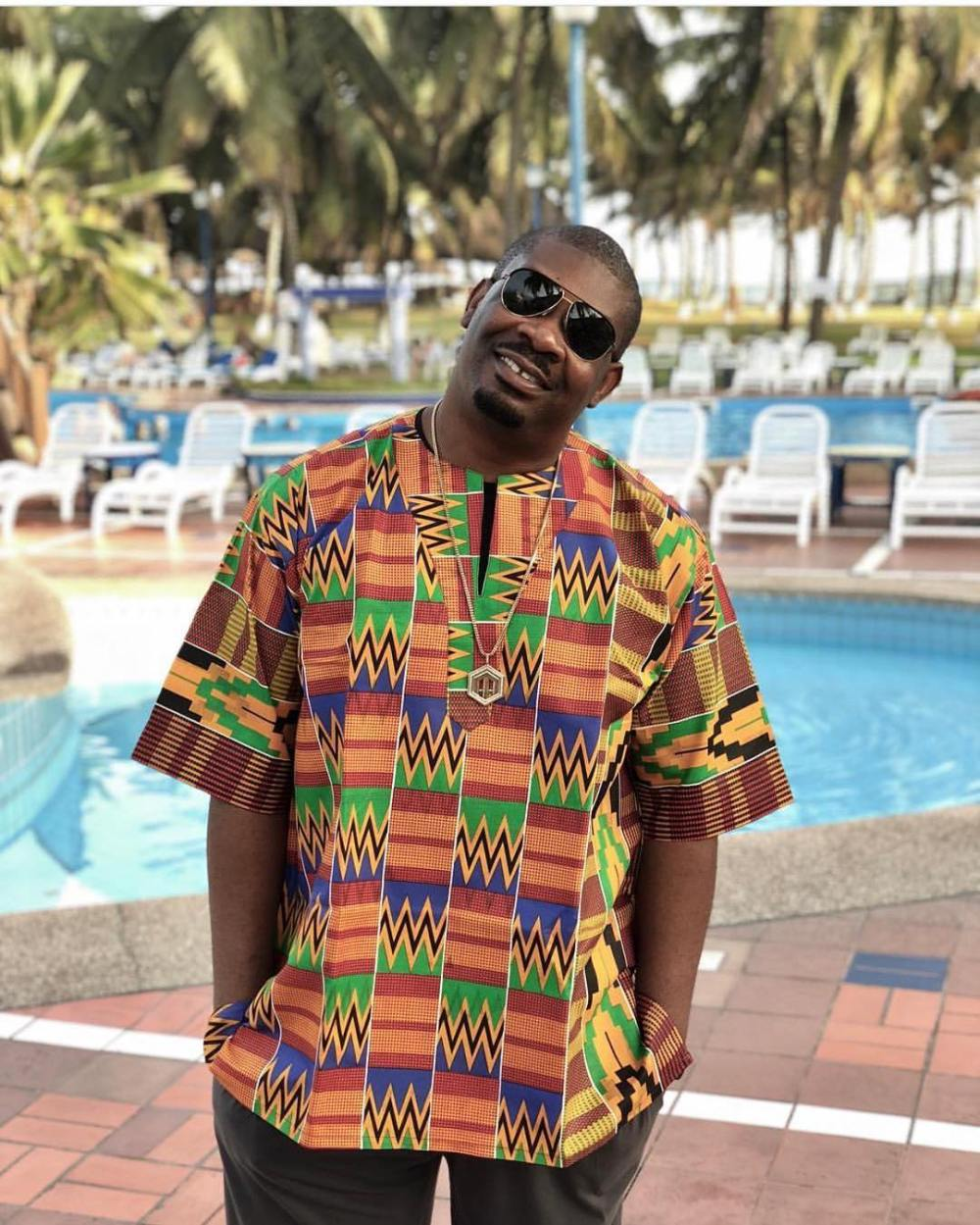 don jazzy wearing dashiki